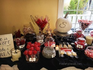 Fall themed Candy Buffet