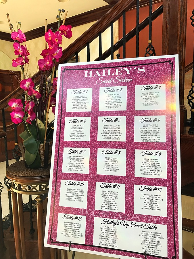 party signs and boards