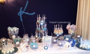 Teal Candy Buffet