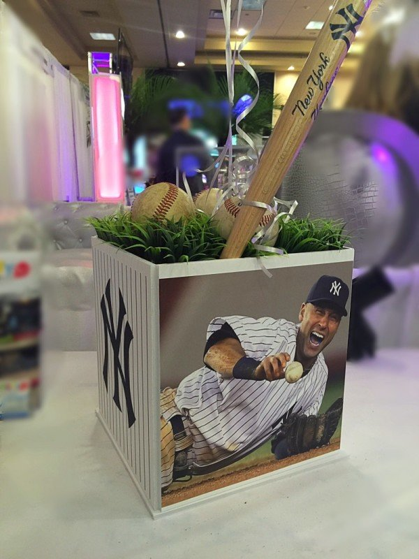 Yankees Jeter Centerpiece