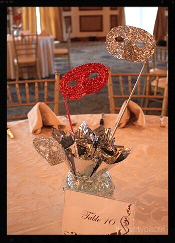 Masquerade Party Centerpiece