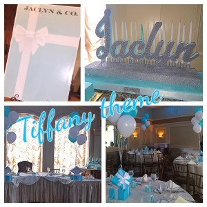 Tiffany theme sweet 16