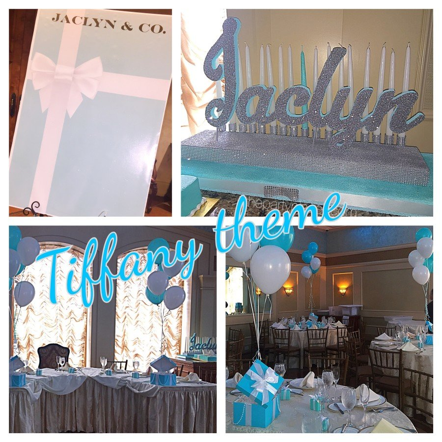 Tiffany Theme Sweet 16 The Party Place Li The Party Specialists