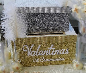 First Communion Card Box