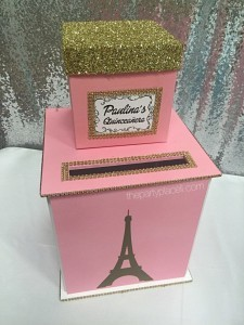 Paris Theme Card Box