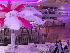 Hot pink bat mitzvah