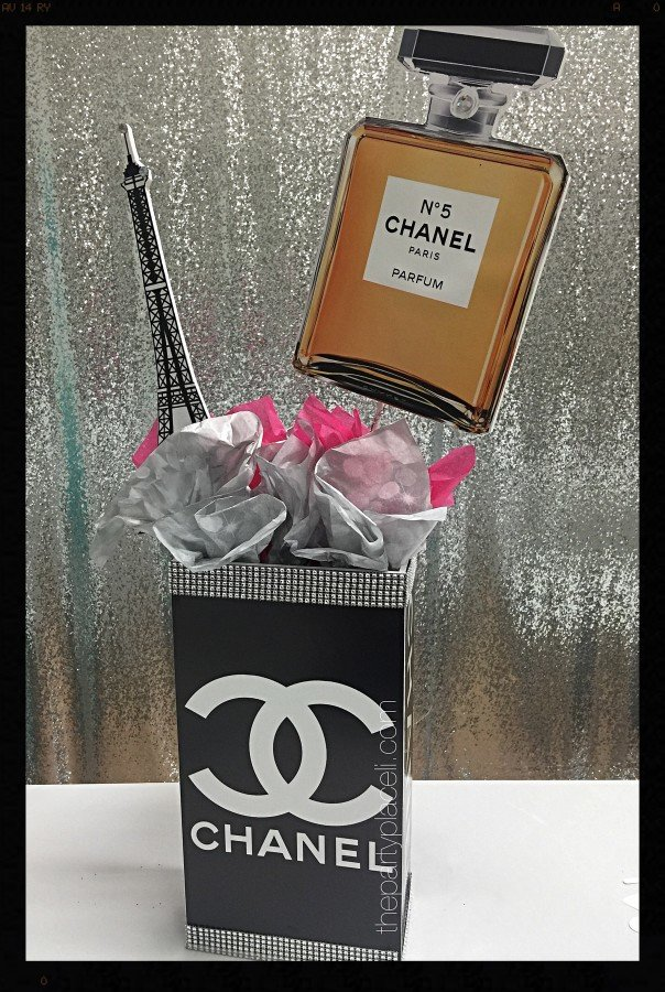 Chanel Paris Theme Sweet 16