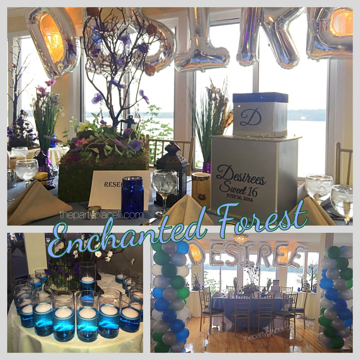 Enchanted Forest Theme Sweet 16