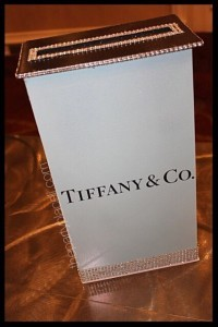 Tiffany Card Box Sweet 16