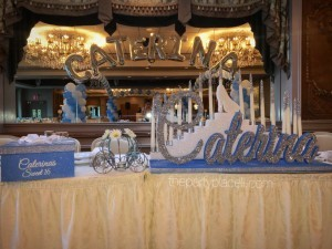 Cinderella Theme Sweet 16