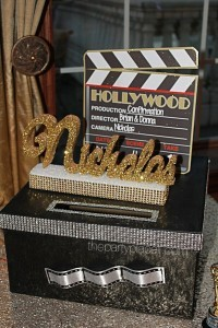 Hollywood Themed Card Box