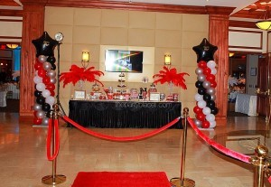 Hollywood Themed Grand Entrance