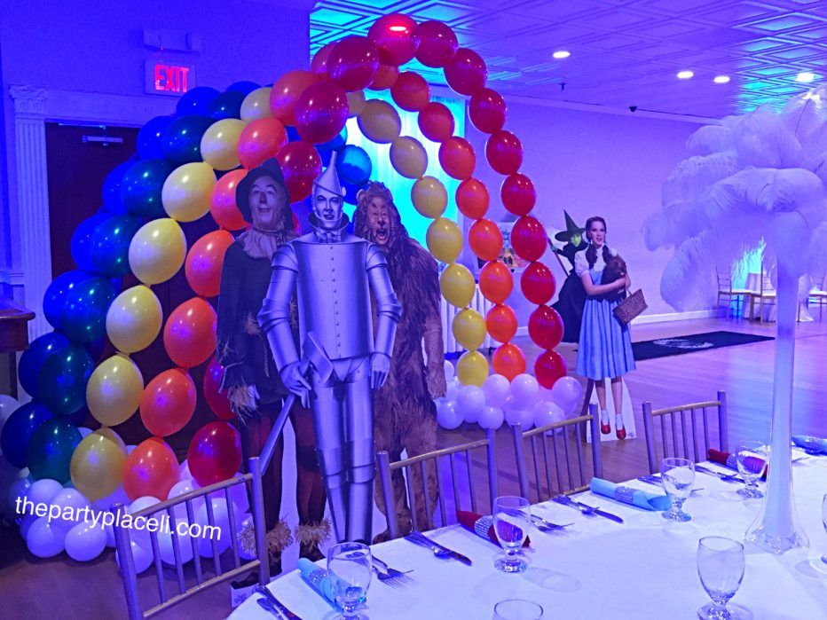 Wizard of Oz Rainbow Balloon Arch