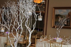 Wedding Manzanita Tree Centerpieces