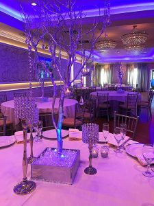 Sweet 16 Crystal Tree Centerpieces