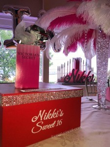Victoria's Secret Themed Sweet Sixteen