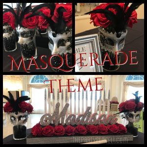 Masquerade Theme Sweet 16