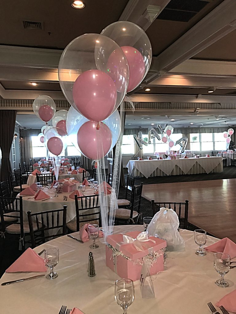 Centerpieces the party place li the party specialists rose ball centerpieces and martini glass display reviewsmspy