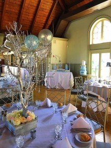 Manzanita crystal tree centerpiece