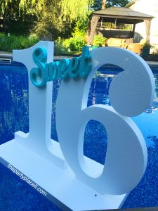 Floating pool prop decoration