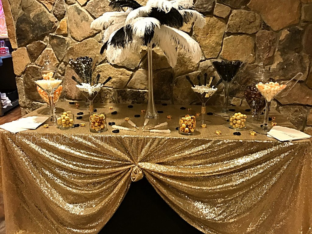 candy buffets the party place li the party specialists rh thepartyplaceli com gold candy buffet ideas gold candy buffet scoops