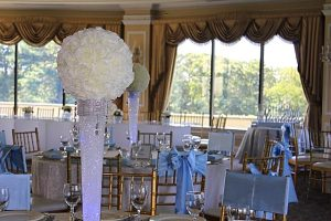 Rose Ball Centerpieces