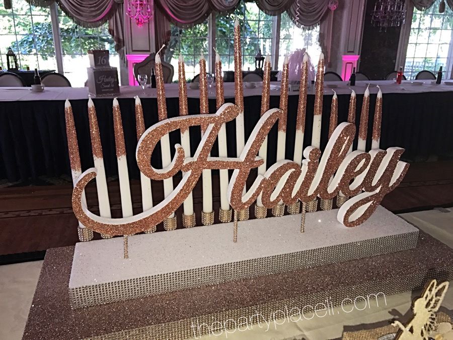 Candle Lighting | The Party Place LI | The Party Specialists on sixteen candle ceremony, sweet 16 candelabra for ceremony, ideas for sweet 16 centerpieces, 15 candles ceremony,