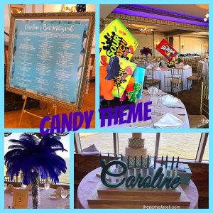 Candy Themed Bat Mitzvah