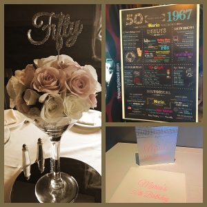 50th Birthday Decor