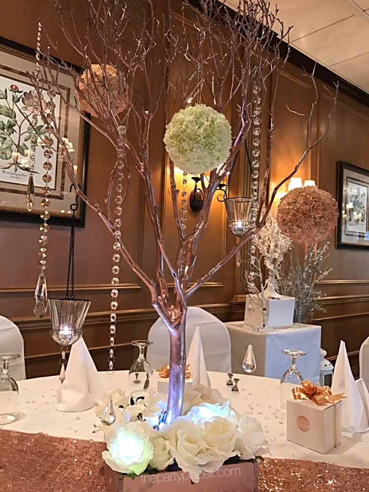 Centerpieces the party place li specialists