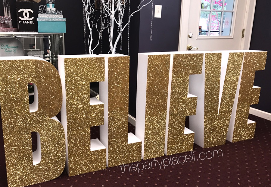 Large Prop Letters & Designs | The Party Place LI | The Party