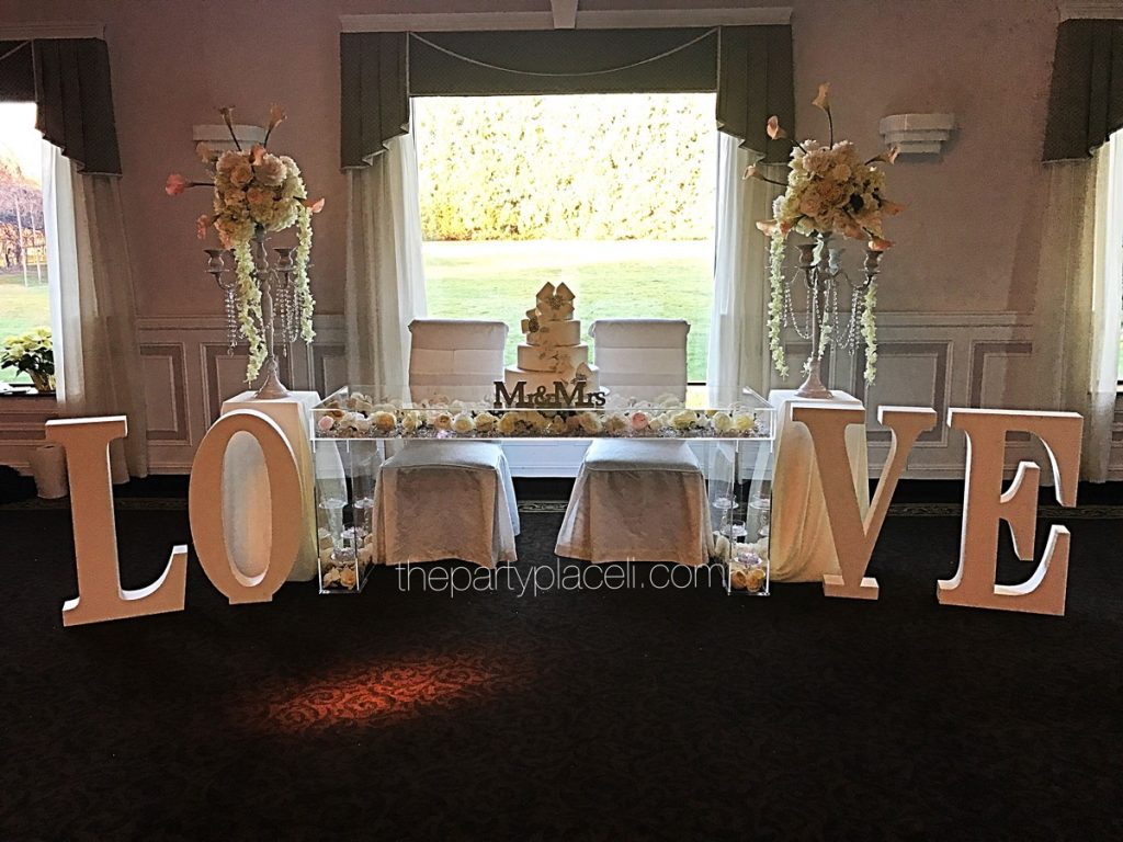 Large Prop Letters Amp Designs The Party Place Li The