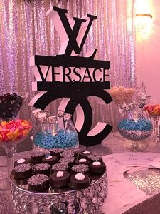 Versace candy buffet