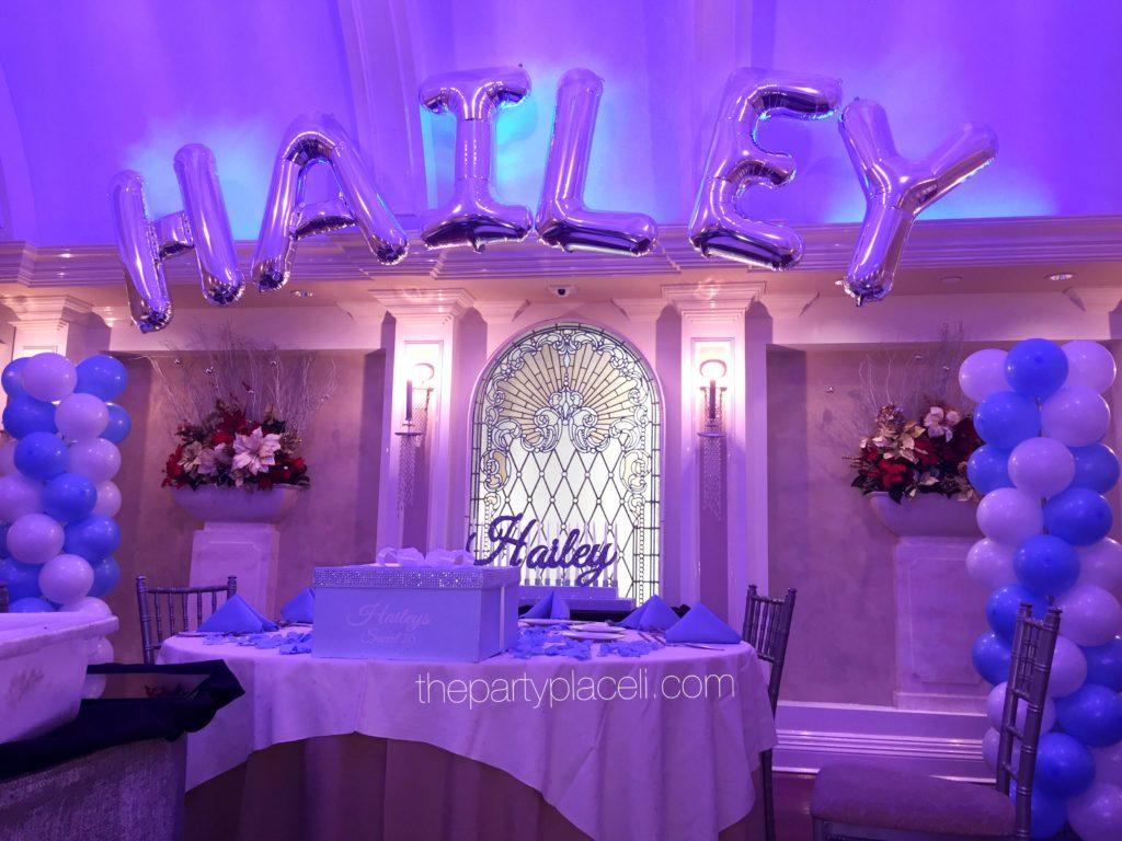 Tiffany Themed Sweet 16